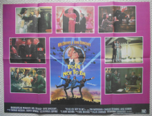 To Be Or Not To Be, Original UK Quad Poster, Mel Brooks, Anne Bancroft, 83